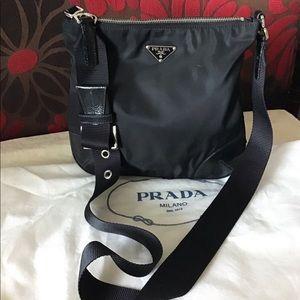 Prada Nylon/Leather Crossbody